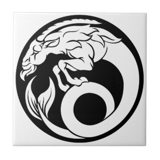 Capricorn Horoscope Zodiac Sign Tile