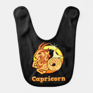 Capricorn illustration bib