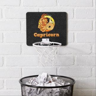 Capricorn illustration mini basketball hoop