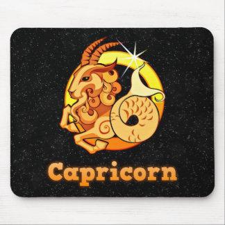 Capricorn illustration mouse pad