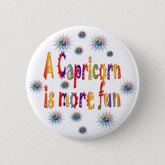 Capricorn is Fun 2 Inch Round Button