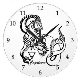 capricorn large clock