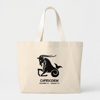 Capricorn Large Tote Bag
