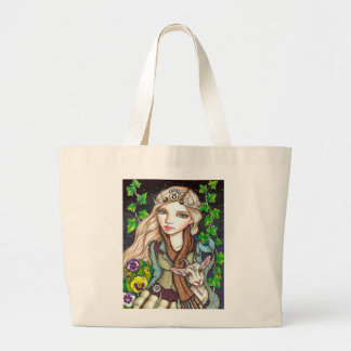 Capricorn Large Tote Bag