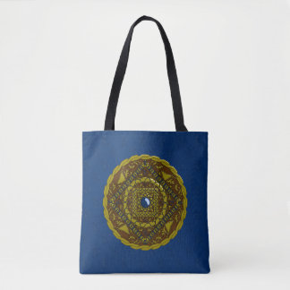 Capricorn Mandala All-Over-Print Bag