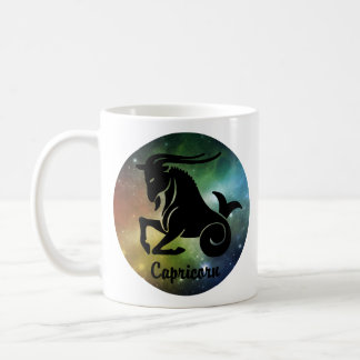 Capricorn On Space Background Coffee Mug