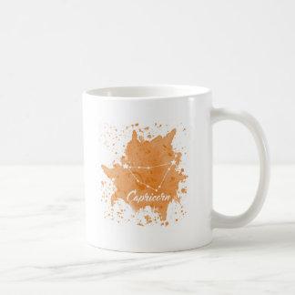 Capricorn Orange Mug