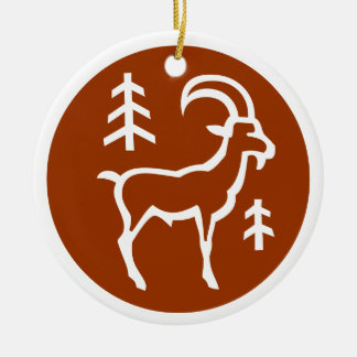 Capricorn Ornament