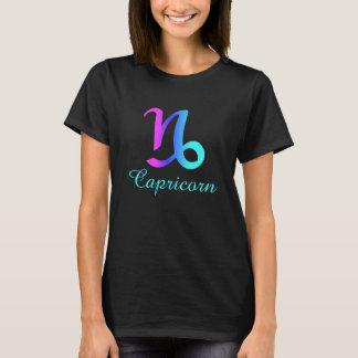 Capricorn Pink Purple Blue Horoscope Sign T-Shirt
