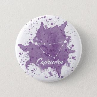 Capricorn Purple Button