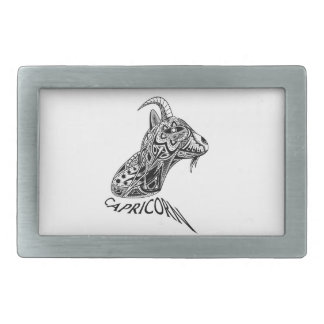 Capricorn Rectangular Belt Buckles