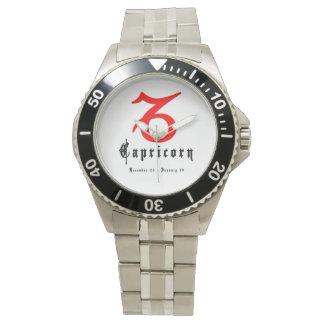 Capricorn Sign Astrology Zodiac Watches