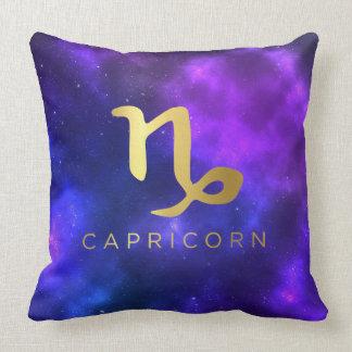 Capricorn Sign Custom Throw Pillow Home Decor