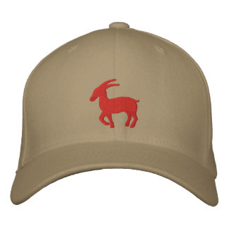 Capricorn Sign Embroidered Hat