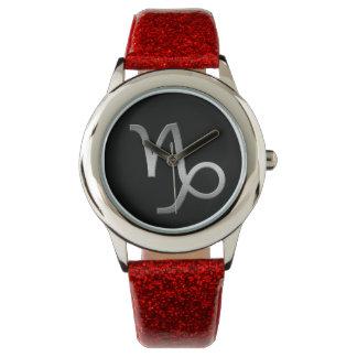 capricorn - silver wrist watches