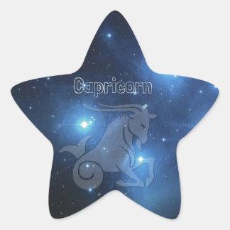 Capricorn Star Sticker