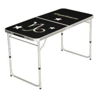 Capricorn symbol beer pong table