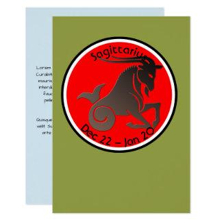 CAPRICORN SYMBOL CARD