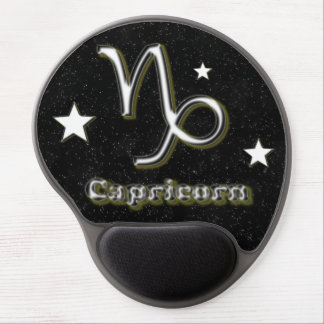 Capricorn symbol gel mouse pad