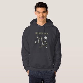 Capricorn symbol hoodie