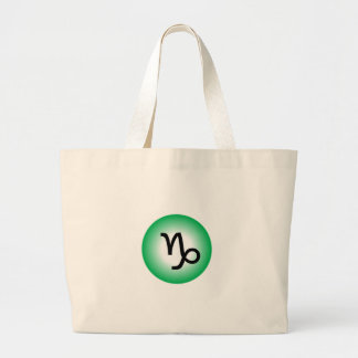CAPRICORN SYMBOL LARGE TOTE BAG
