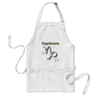Capricorn symbol standard apron
