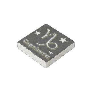 Capricorn symbol stone magnets