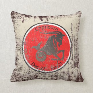 CAPRICORN SYMBOL THROW PILLOW