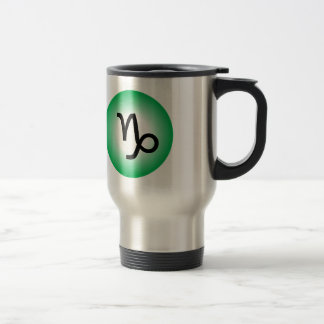 CAPRICORN SYMBOL TRAVEL MUG