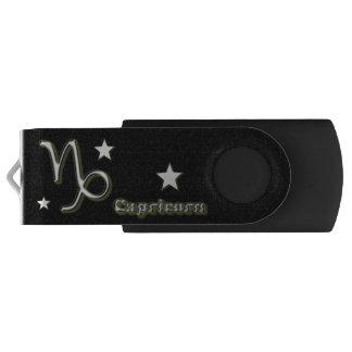Capricorn symbol USB flash drive