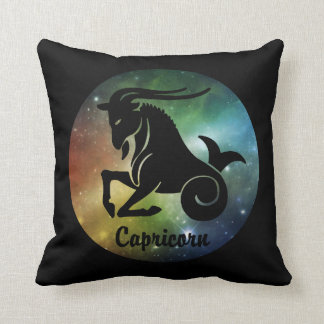 Capricorn the Goat Throw Pillow
