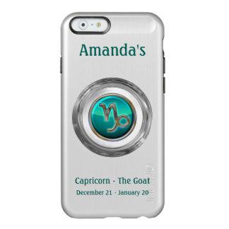 Capricorn - The Goat Zodiac Sign Incipio Feather® Shine iPhone 6 Case