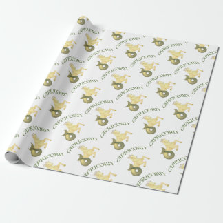 Capricorn Wrapping Paper