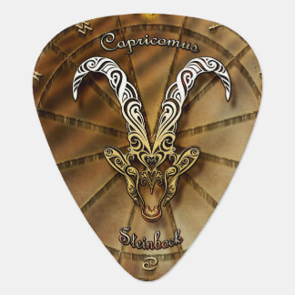 Capricorn Zodiac Astrology design Guitar Pick