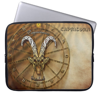 Capricorn Zodiac Astrology design Laptop Sleeve