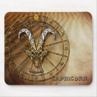 Capricorn Zodiac Astrology design Mouse Pad
