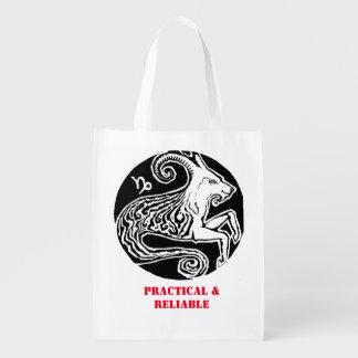 Capricorn - Zodiac Grocery bag