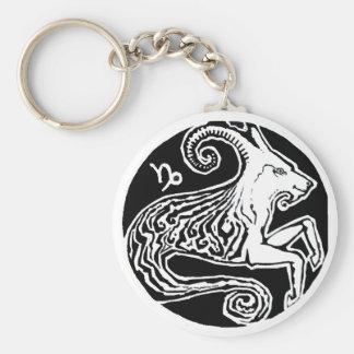 Capricorn - Zodiac Keychain