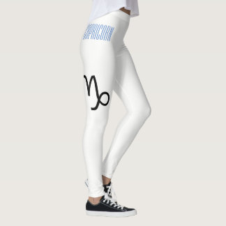 Capricorn Zodiac Leggings