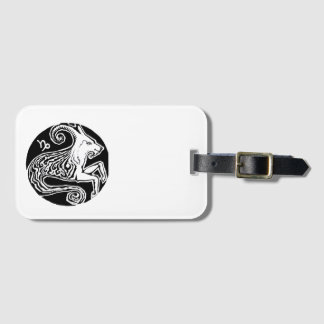 Capricorn - Zodiac Luggage tag
