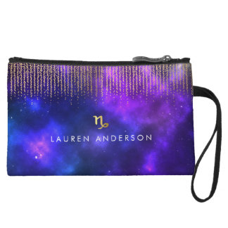 Capricorn Zodiac Pretty Cosmetic Bag