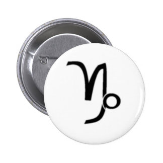 Capricorn Zodiac Sign Buttons