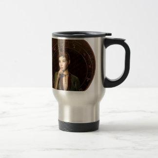 Capricorn zodiac sign travel mug