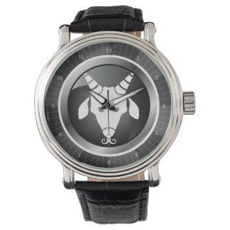 Capricorn Zodiac Sign Wrist Watch