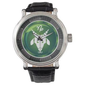Capricorn Zodiac Sign Wrist Watches
