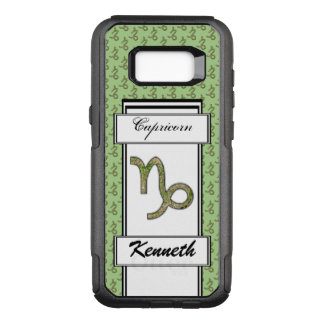 Capricorn Zodiac Symbol Element by K Yoncich OtterBox Commuter Samsung Galaxy S8+ Case