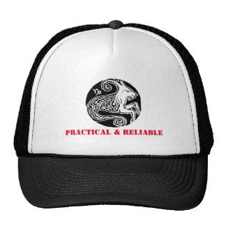 Capricorn - Zodiac Trucker cap Trucker Hat