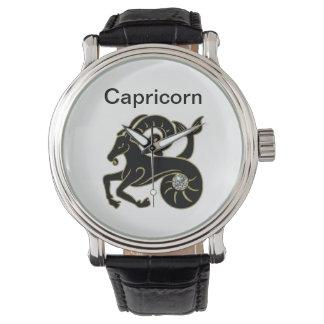 Capricorn Zodiac Wrist Watch