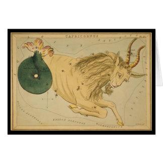 Capricornus (Capricorn) Card