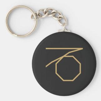 Capricornus  Zodiac Sign Basic Keychain
